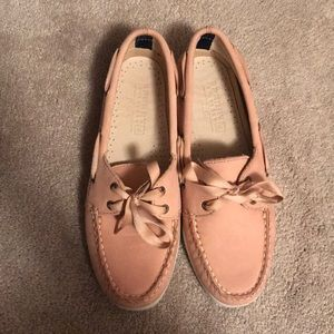 Blush pink Sperry Top- Siders